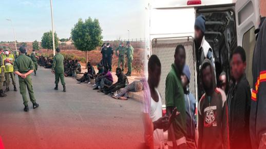 وفاة مهاجر وإصابة 8 بجروح خلال عملية اقتحام جماعية لسياج مليلية