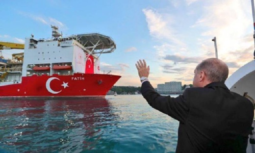 أردوغان يعلن اكتشاف تركيا لأكبر حقل غاز في البحر الأسود