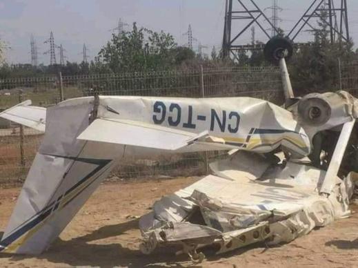 سقوط طائرة القنيطرة.. وزارة السّياحة تدخل على الخط وتوضّح