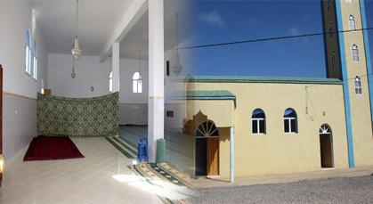 """محسنون يبادرون الى إصلاح مسجد """"شعابي"""" بجماعة الكبداني"""