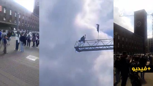 ألمانيا.. شخص يحاول الانتحار من رافعة بمحطة القطار في دوسلدورف