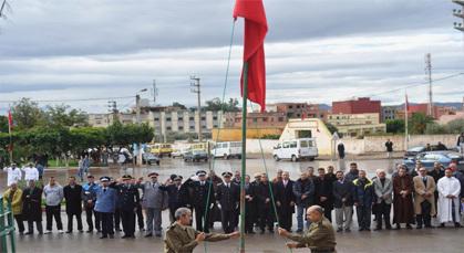 بلدية زايو تؤدي تحية العلم تخليدا لذكرى عيد الاستقلال