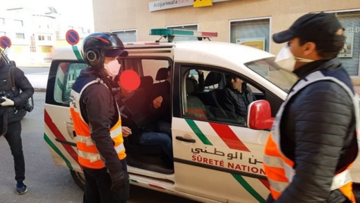 الشرطة توقف ستينيا شكك في اجراءات مكافحة جائحة كورونا