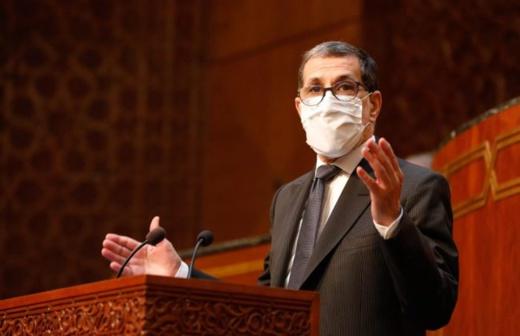 """رئيس الحكومة: الوضعية الوبائية في المغرب """"مقلقة"""" وخسائر كورونا البشرية كبيرة"""