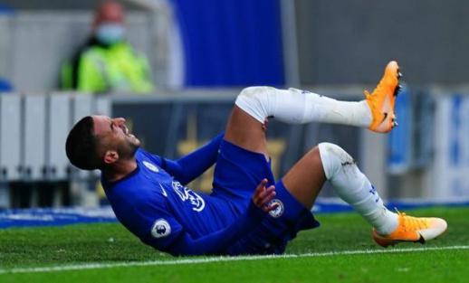 زياش يصنع هدفا في أول مشاركة له أساسيا مع تشيلسي  والإصابة تحرمه من إكمال المباراة