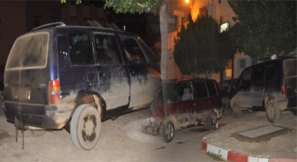 أمن زايو يحجز 6 سيارات تستعمل في تهريب الكازوال ويعتقل ميكانيكيا