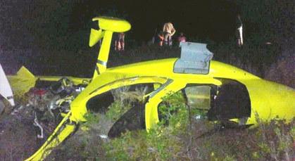 سقوط طائرة صغيرة خلال محاولتها نقل الحشيش