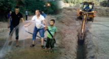 """جمعية لعري تواصل أشغال ربط دوار """"لعري"""" بالماء الصالح للشرب تمسمان"""