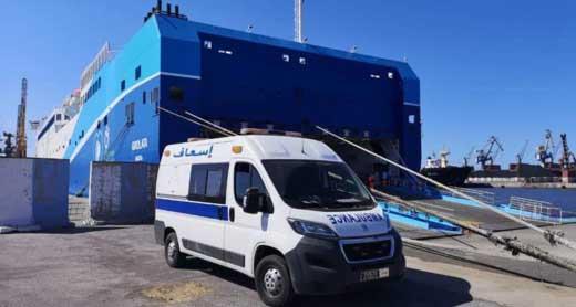 سلطات الناظور تستعد لاستقبال سفينة على متنها 14 مصابا بفيروس كورونا