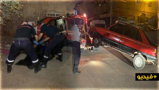 جثة داخل سيارة تكسر قواعد التباعد الاجتماعي بمدينة الناظور