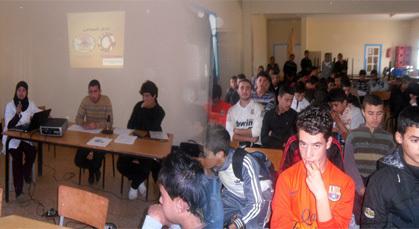 نادي التضامن بالثانوية التأهيلية بودينار يعقد جمعه السنوي