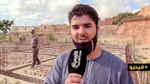 """جمعية أهل الخير تناشد المحسنين للمساهمة في أشغال بناء مسجد دوار """"إخربيشيا"""" بجماعة إكسان"""
