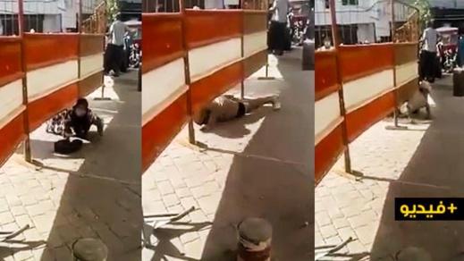 اعتقال أزيد من 10 أشخاص ظهروا في فيديو تخطي الحواجز الحديدة بحي موبوء بالرباط