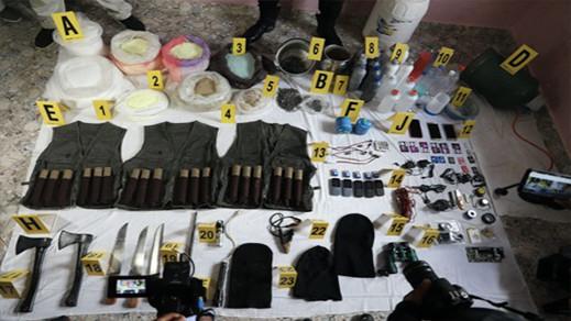 تفكيك خلايا إرهابية بثلاثة مدن مغربية وحجز أحزمة ناسفة