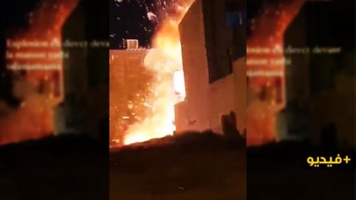 بالفيديو.. انفجار يهز مصحة خاصة واستنفار أمني في صفوف السلطات المحلية والوقاية المدنية