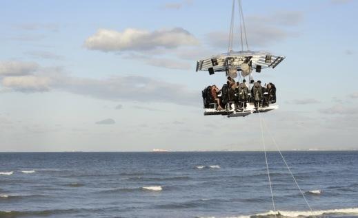 المطعم المعلق يصل إلى الدارالبيضاء.. مطعم في السماء على ارتفاع 50 مترا