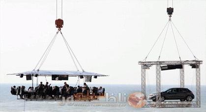 مطعم عين دياب بالدارالبيضاء.. مغامرة الأكل في الهواء الطلق على ارتفاع 50 متراً.