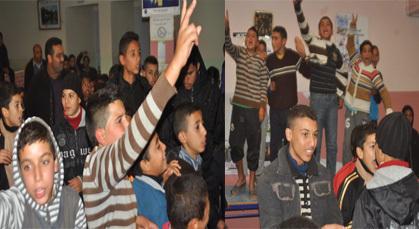 أمسية فنية للأطفال بدار الشباب بزايو واحتجاج العائلات عن اكتظاظ القاعة