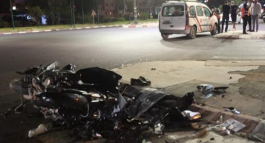 حادث سير خطير يودي بحياة شخصين في الطريق الساحلية بين الناظور والحسيمة