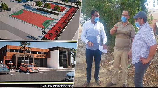 رئيس جماعة ميضار وباشا المدينة يعطيان انطلاقة إنجاز عدة مشاريع