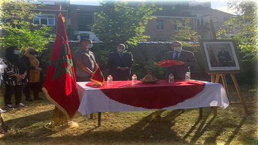 """سفارة المغرب ببلجيكا تقيم حفل استقبال باهرا """"للطفل المعجزة"""" صلاح الدين داسي"""