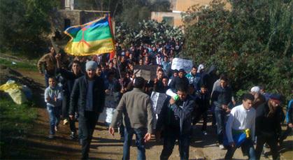 ساكنة إجطي (إشنيوان) بالدريوش تعود للاحتجاج بعد عـام من الوعود الكاذبة