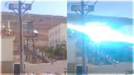 تماس كهربائي بعمود للضغط العالي بحي ايكوناف يثير غضب الساكنة ومطالب بتدخل الجهات المختصة