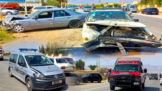 إصابة ثلاثة نساء في حادثة سير خطيرة قرب الدريوش