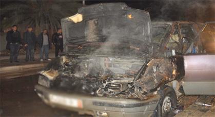 """اندلاع حريق مهول في """"مقاتلة"""" بمدينة زايو يستنفر الأجهزة الأمنية"""