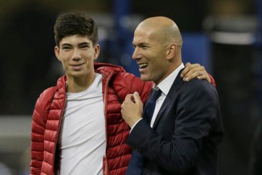 """نجل أسطورة كرة القدم """"زين الدين زيدان"""" يتعاقد مع فريق مغربي"""