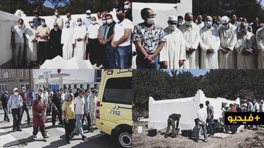 جنازة مهيبة لوالد الأستاذ الحسين العطياوي المستشار لدى محكمة الاستئناف بالناظور