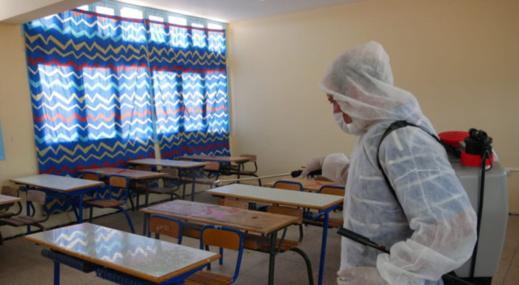 الناظور.. اعتماد التعليم عن بعد في مؤسسة ابتدائية إثر إصابة أستاذة بفيروس كورونا