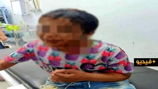 شاهدوا.. شريط فيديو لطفلة تروي تفاصيل تعرضها للتعنيف والتهديد بالقتل على يد زوجة أبيها يستنفر مديرية الأمن