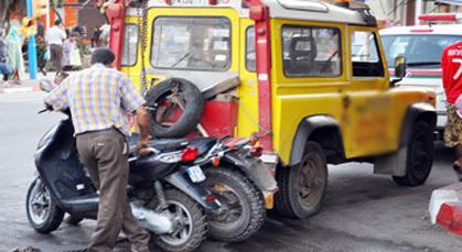 حملة تمشيطية ضد مستعملي الدراجات النارية بتمسمان