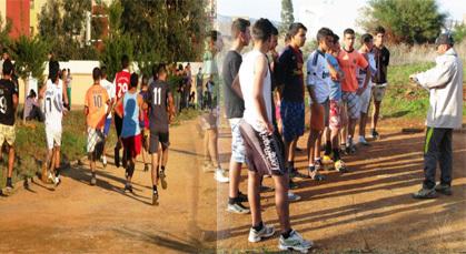 ثانوية تمسمان تنظم البطولة المحلية للعدو الريفي