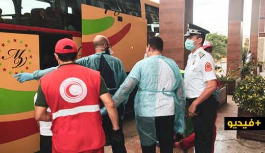 الدفعة الثانية.. السلطات الإقليمية بالناظور تستمر في عملية استقبال المغاربة العالقين بمليلية المحتلة