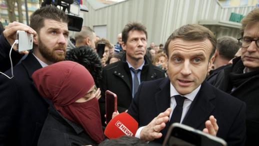 """ماكرون يعلن خطة لمحاصرة """"الانفصالية الإسلامية"""" في فرنسا"""