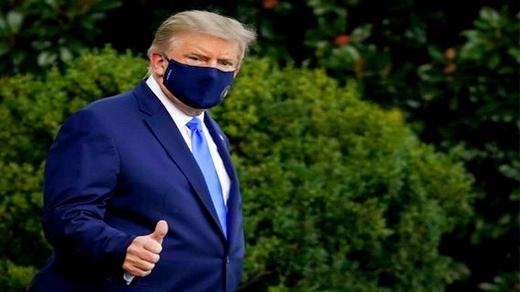 """الرئيس الأمريكي يعلن عن موعد خروجه من المستشفى ويؤكد: """"لا تخافوا من كورونا"""""""