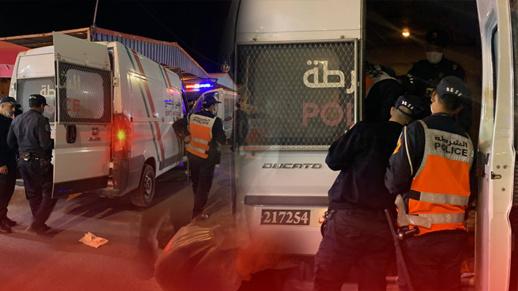 حجز حوالي كيلوغرامين من المخدرات لدى مسافر بمحطة سيارات الأجرة بالناظور