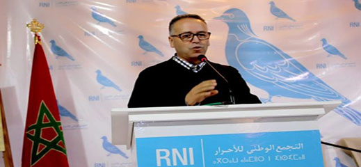 اخنوش يعين العبوضي منسقا للحزب في الناظور خلفا للمرحوم أحمد المحوتي