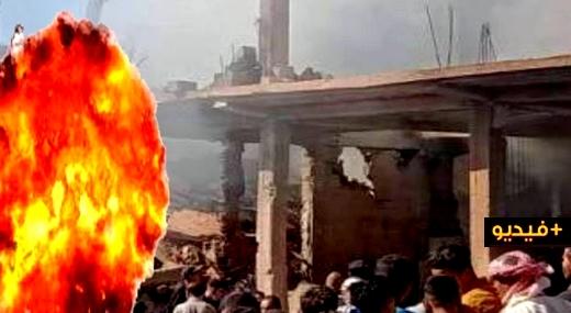 انفجار يهز الجارة الجزائر.. خمسة قتلى و16 جريحا وانهيار بنايتين في انفجار جراء تسرب للغاز