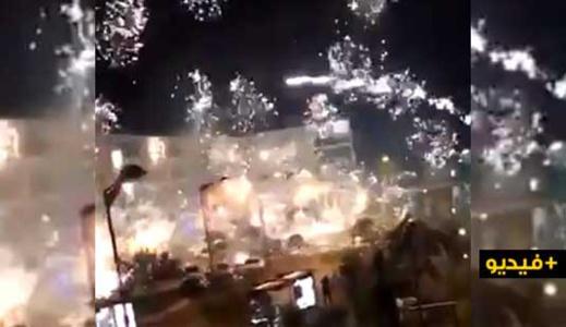 شاهدوا.. 40 شخصا يهاجمون مقر للشرطة ضواحي العاصمة باريس
