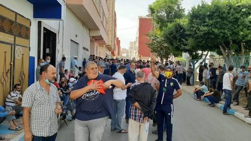 العصبة المغربية للدفاع عن حقوق الانسان تتفاعل مع مستجدات قرار اغلاق سوق ازغنغان