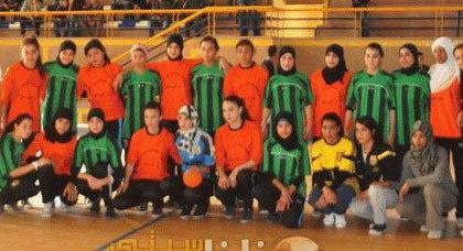 نهائي نسوي لكرة اليد بالقاعة المغطاة بزايو يبصم على نجاح أول دوري للفتيات