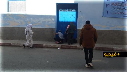 """استمرار توافد """"ممتهني التهريب"""" على مقر الاتحاد المغربي للشغل بالناظور"""