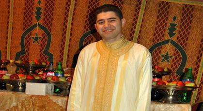 تهنئة لعائلة مجاهد بمناسبة زفاف ابنها البار سفيان