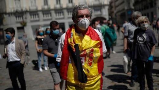 """إسبانيا.. جهة مدريد تمنع التجمعات من منتصف الليل حتى السادسة صباحا لتطويق """"زحف"""" كورونا"""