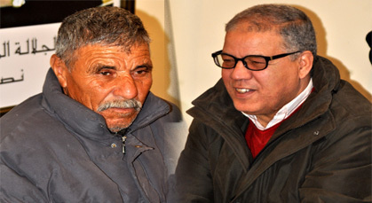 علي كاميلي وحسن الراشدي يُكَرَّمَان ببلدية زايو بعد إحالتهما على التقاعد