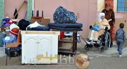 حكم قضائي بإفراغ منزل يشرد امرأة وابنيها بزايو ويرمي بهم الى الشارع