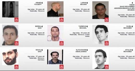 بالصور.. مغاربة يبحث عنهم الأنتربول بسبب الإرهاب أو المخدرات أو التزوير أو السرقة
